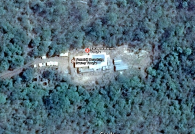 Pavana Narasimha - temple google