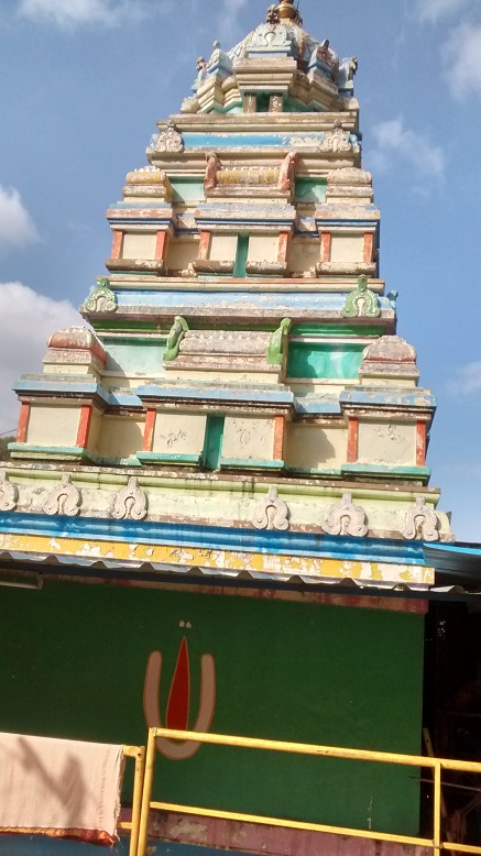 Pavana Narasimha - temple -outside-side view