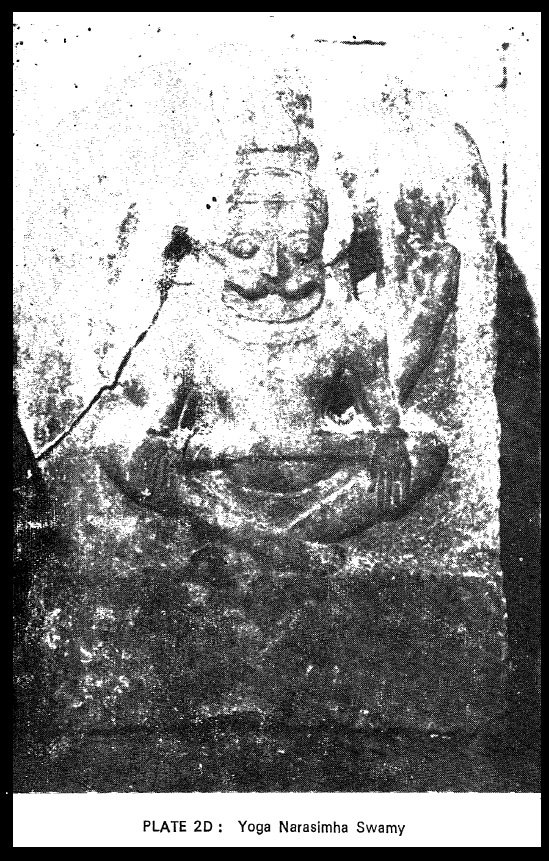 Yogananda Naraimha idol - during 1970s - Sitapati