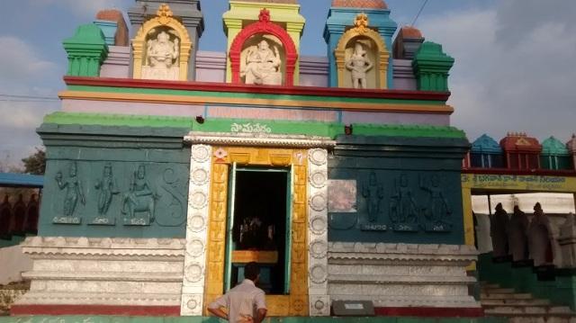Yogananda Naraimha temple - Navanarasimha-navagruha-recent