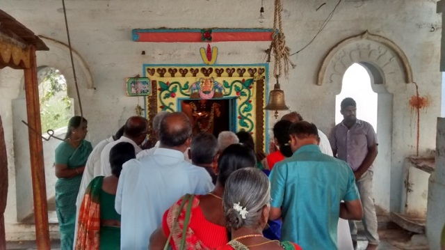 Yogananda Naraimha temple - sannidhi