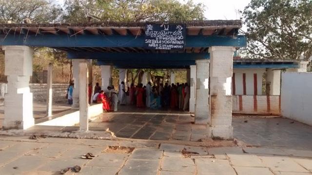 Yogananda Naraimha temple - side view