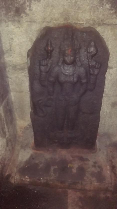Baktajaneswarar temple -Amman Sannidhi. Vaishnavi RHS