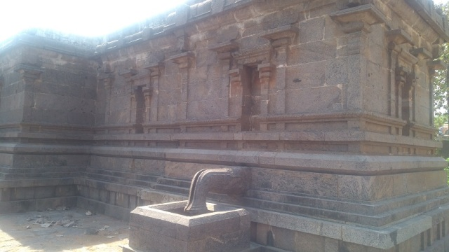 Baktajaneswarar temple -backside