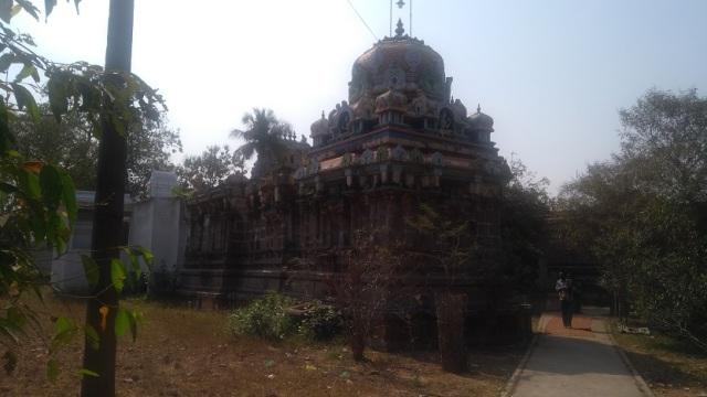 Baktajaneswarar temple, Govindaraja sannidhi backside