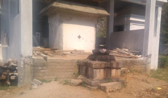 Baktajaneswarar temple, Govindaraja sannidhi-Palipit
