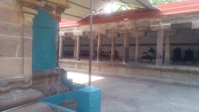Baktajaneswarar temple -inner prakara
