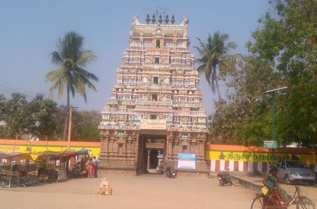 Baktajaneswarar temple, Tirunavalur
