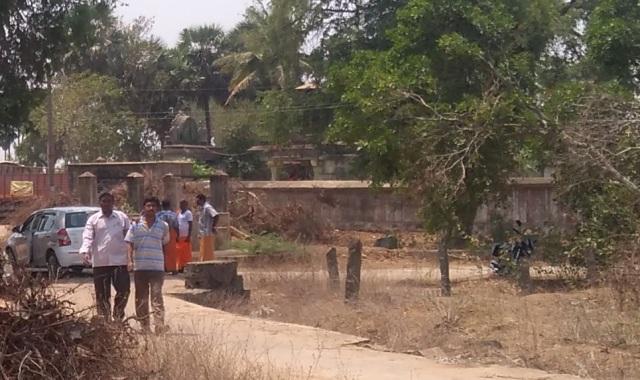 Perumal temple compund wall
