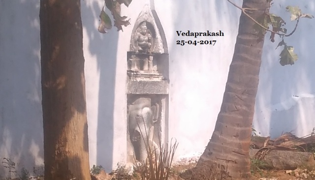 Srikalinarai - in Palava grantha.from a distance