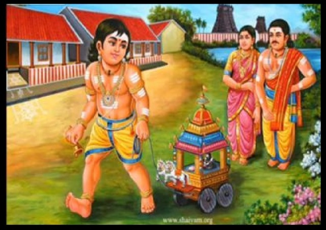 Sundara Murthy Nayanar - playing with Rath