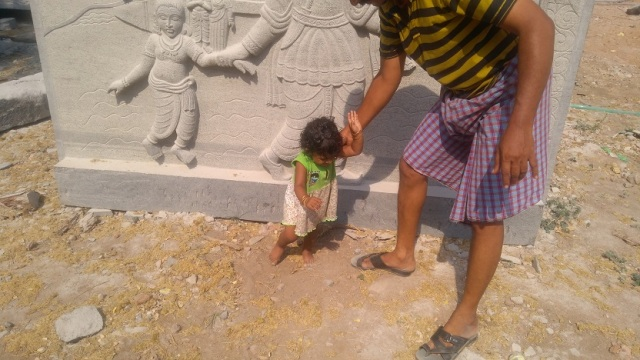 Sundarar bith place.work is goin on - child