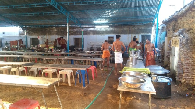 Nerur-2017 - Agraharam - Dining hall- tiffin ready