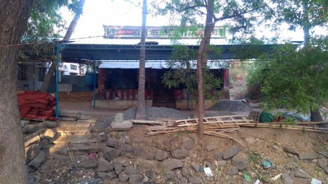 Nerur-2017 - Agraharam - LHS house.Chinna Sankaracharya house