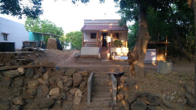 Nerur-2017 - Agraharam - LHS house. new - reconstructed