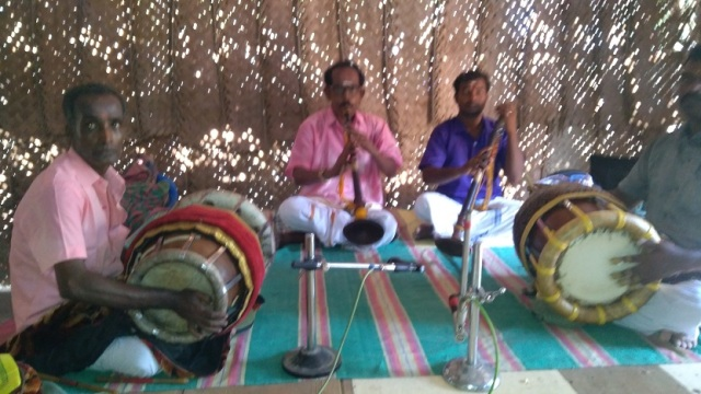 Nerur-2017 - Agraharam - Morning auspicious music