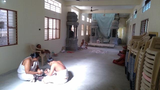 Nerur-2017 - Agraharam - Narasimhar temple coming up