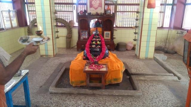 Nerur-2017 - Kailash Ashram- Sadasivananda Samadhi.close view