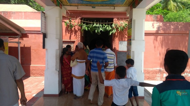 Nerur-2017 - Kasi Viswanathar temple entrance.