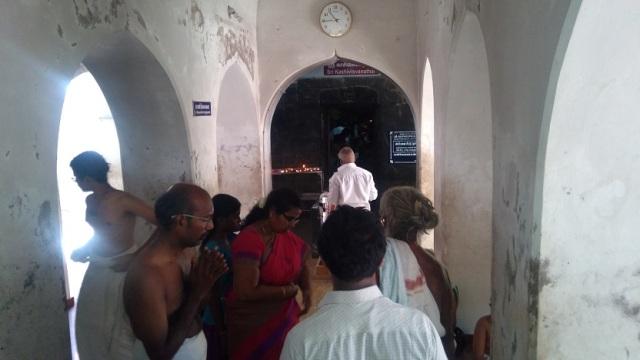 Nerur-2017 - Kasi Viswanathar temple -Garba gruha