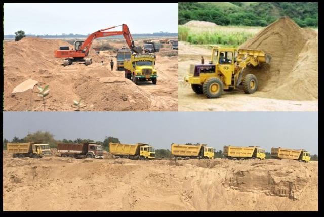 Nerur-Karur sand loot on the banks of Kaveri
