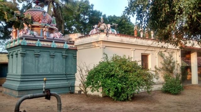Tiruvamur - Navukkarasar birth place - view from corner LHS.