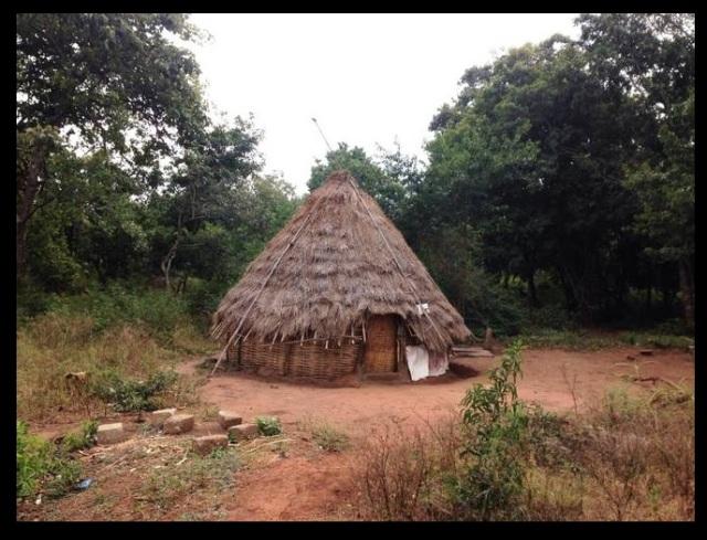 Saleswaram, hut-house of Chenchus