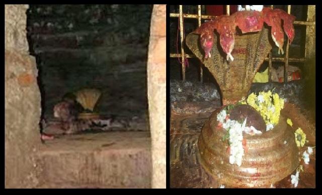 Saleswaram, Linga, cave-Nalammalla forest