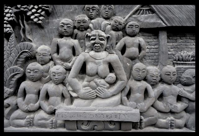 Candi dasa Bali temple