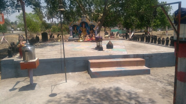 Saptamatra temple -full view of all - 6