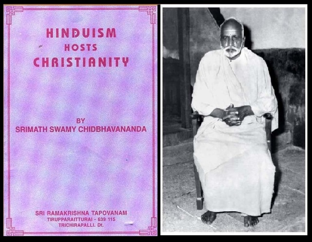Hinduism hosts christianity-chidbagananda
