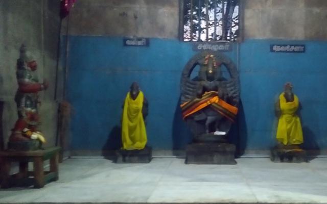 Kulittalai - Kadambavaneswarar - Muruga, Valli, Sena