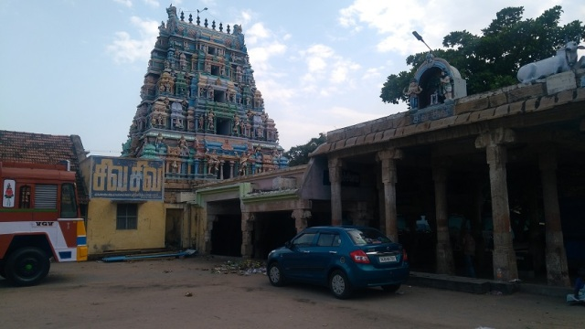 Kulittalai - Kadambavaneswarar - side