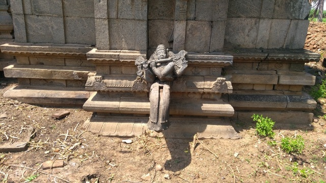 Permal temple- Venugopalan statue broken condition