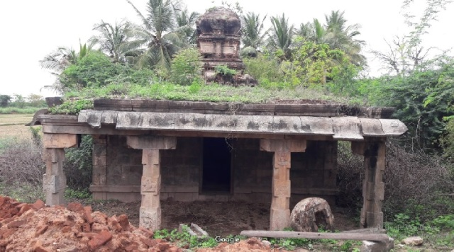 PERUMAL temple, front view GOOGLE