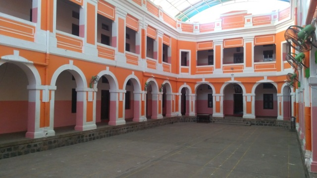 Ramakrishna Tapovan - inner open space.another view