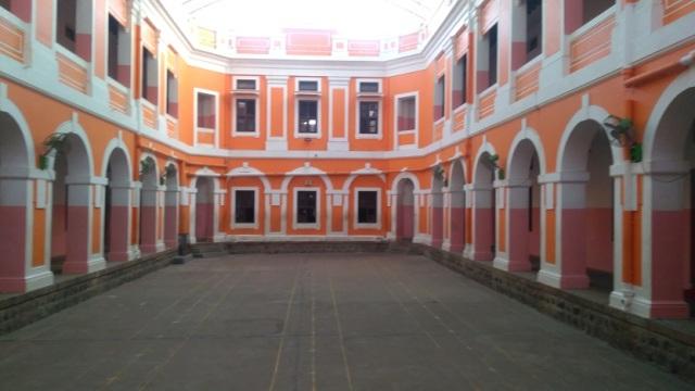 Ramakrishna Tapovan - inner open space