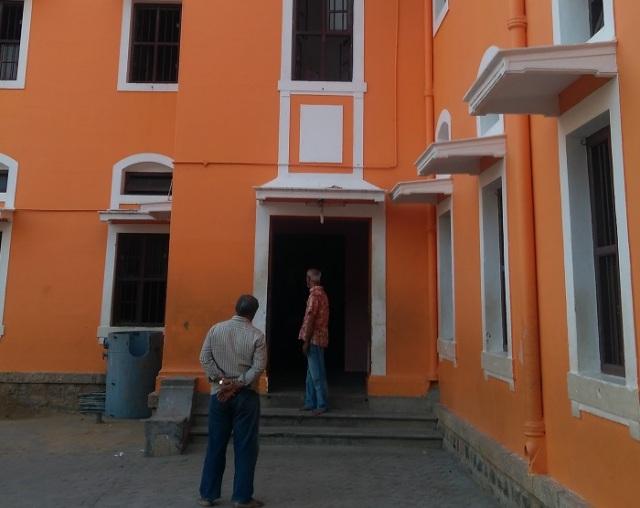 Ramakrishna Tapovan - side view, office