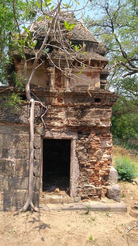 Rudrakshapureswarar, Garbagruha