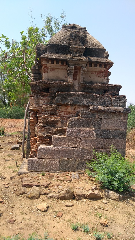 Rudrakshapureswarar, Garbagruha.other side