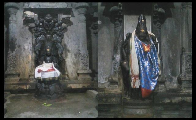 Thiruparaythurai - Dhakshinamurthy and Arthanareswarar