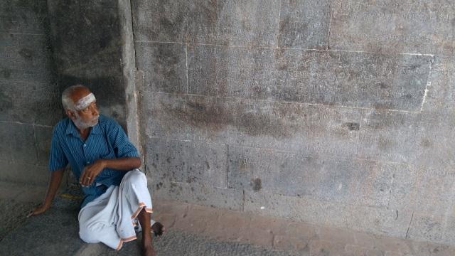Thiruvennainallur temple - entrance. inscriptions