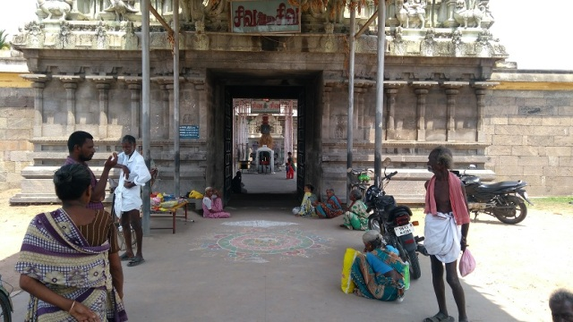 Thiruvennainallur temple - entrance