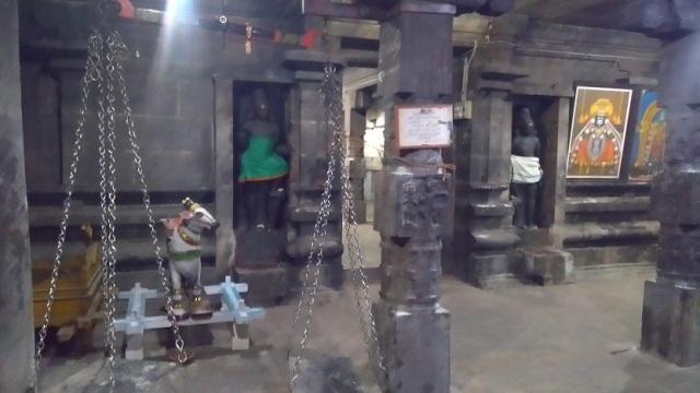 Thiruvennainallur temple - inside.thulabharam
