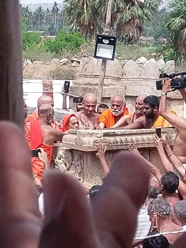 Nava Brindavan restoring work started by devotees-10