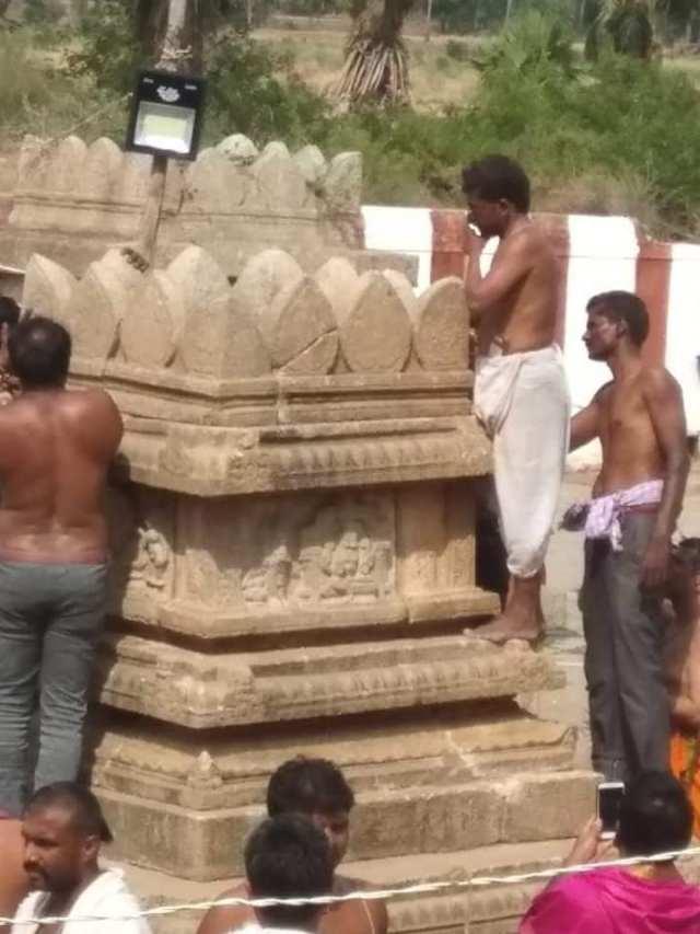 Nava Brindavan restoring work started by devotees-5