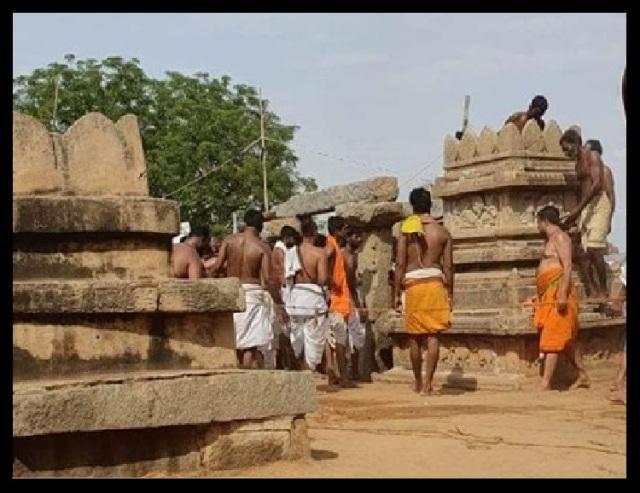 Nava Brindavan restoring work started by devotees-7-1