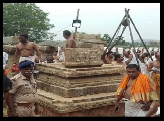 Nava Brindavan restoring work started by devotees-9-1