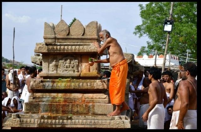 Nava Brindavan restoring work started by devotees-9-2