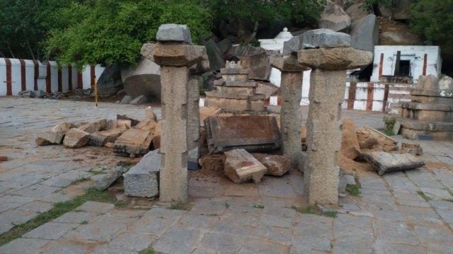 vyasarajaracbrindavanin anegundi-4-demolished